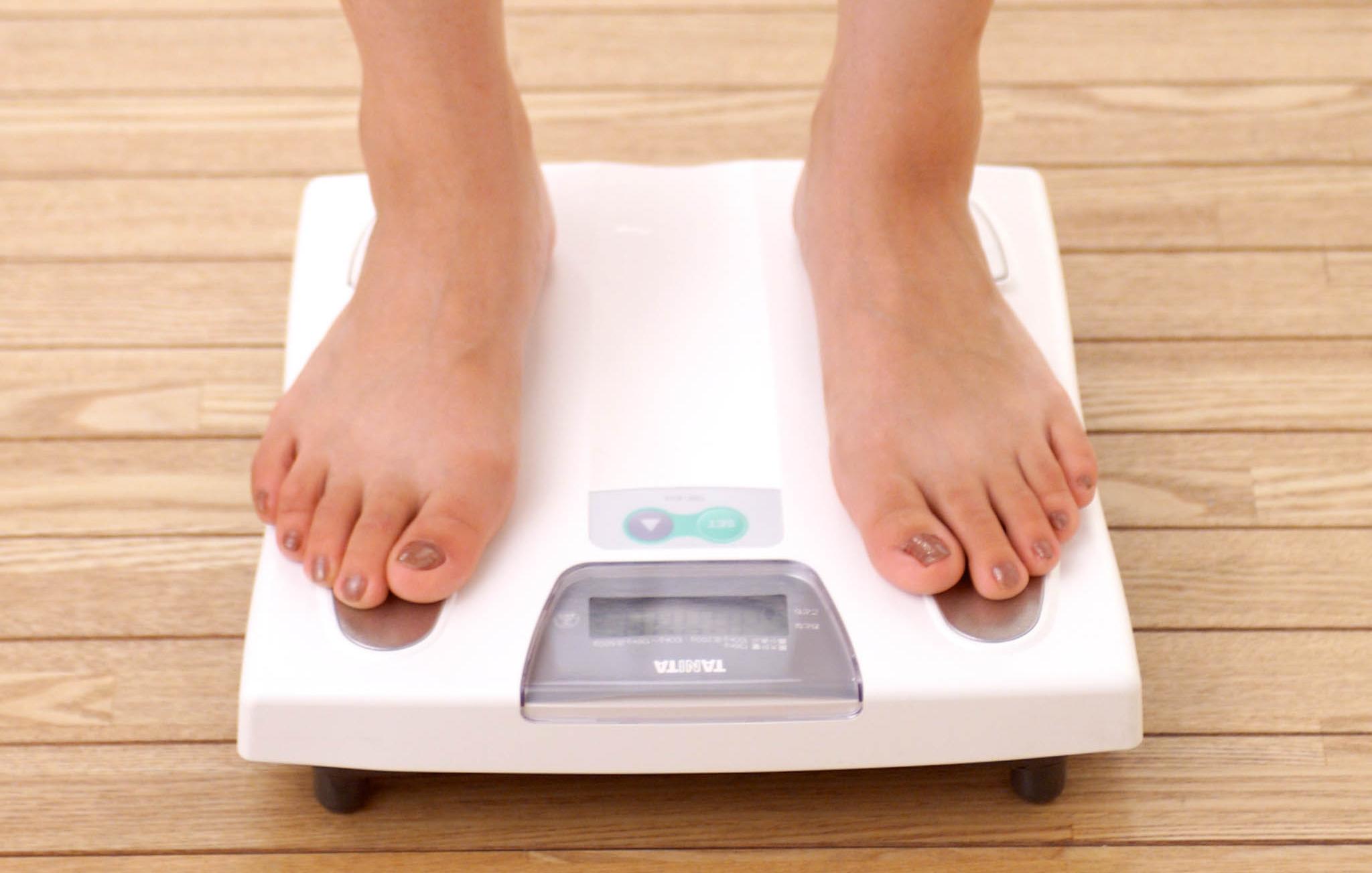 脂肪は急に増減しない