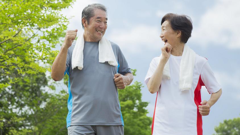 歩き方が健康寿命を変える